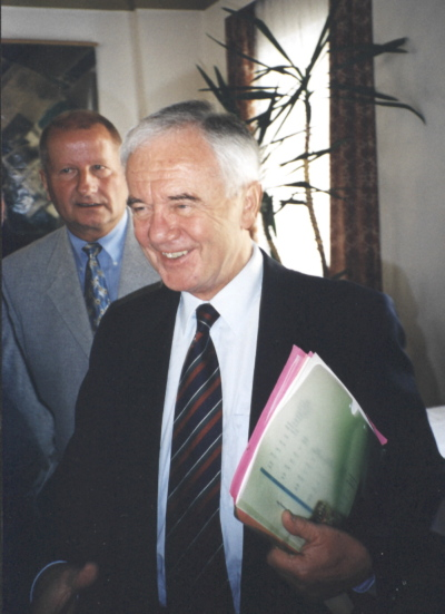 Ehrenmitglied Manfred Stolpe