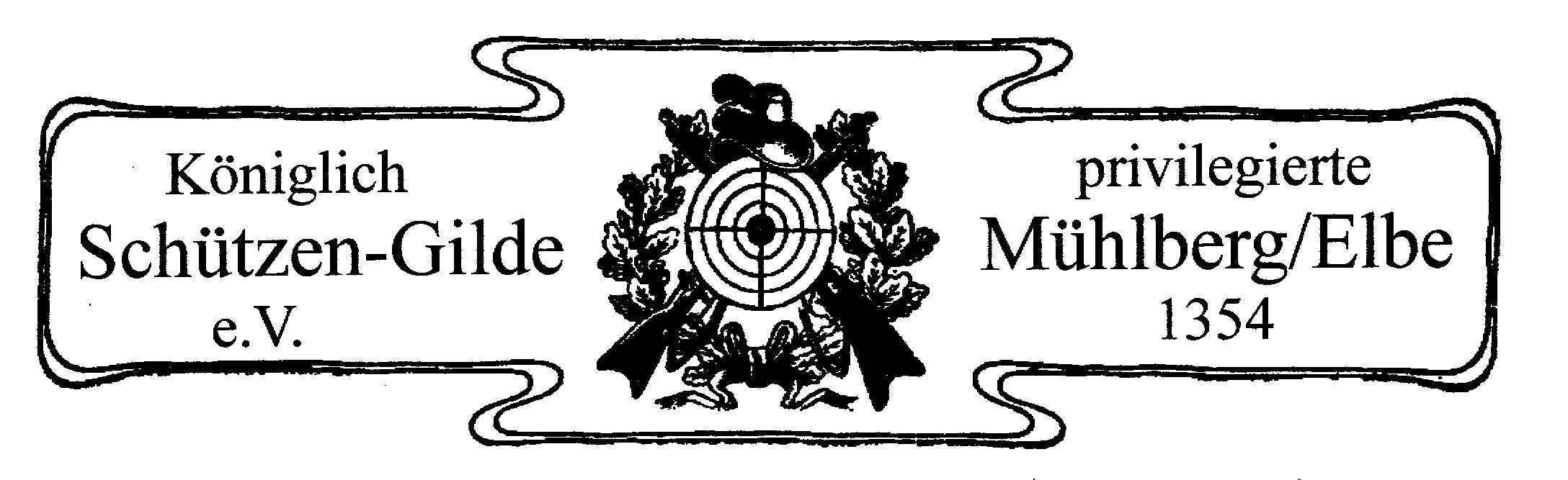 Briefkopf der Mühlberger Schützengilde bis 1938