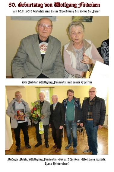 80. Geburtstag Wolfgang Findeisen