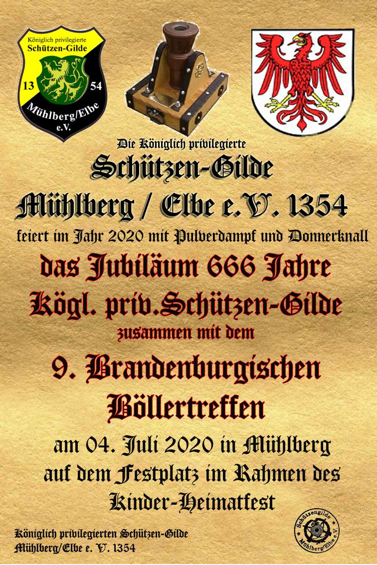 Jubiläum 666 Jahre Einladung