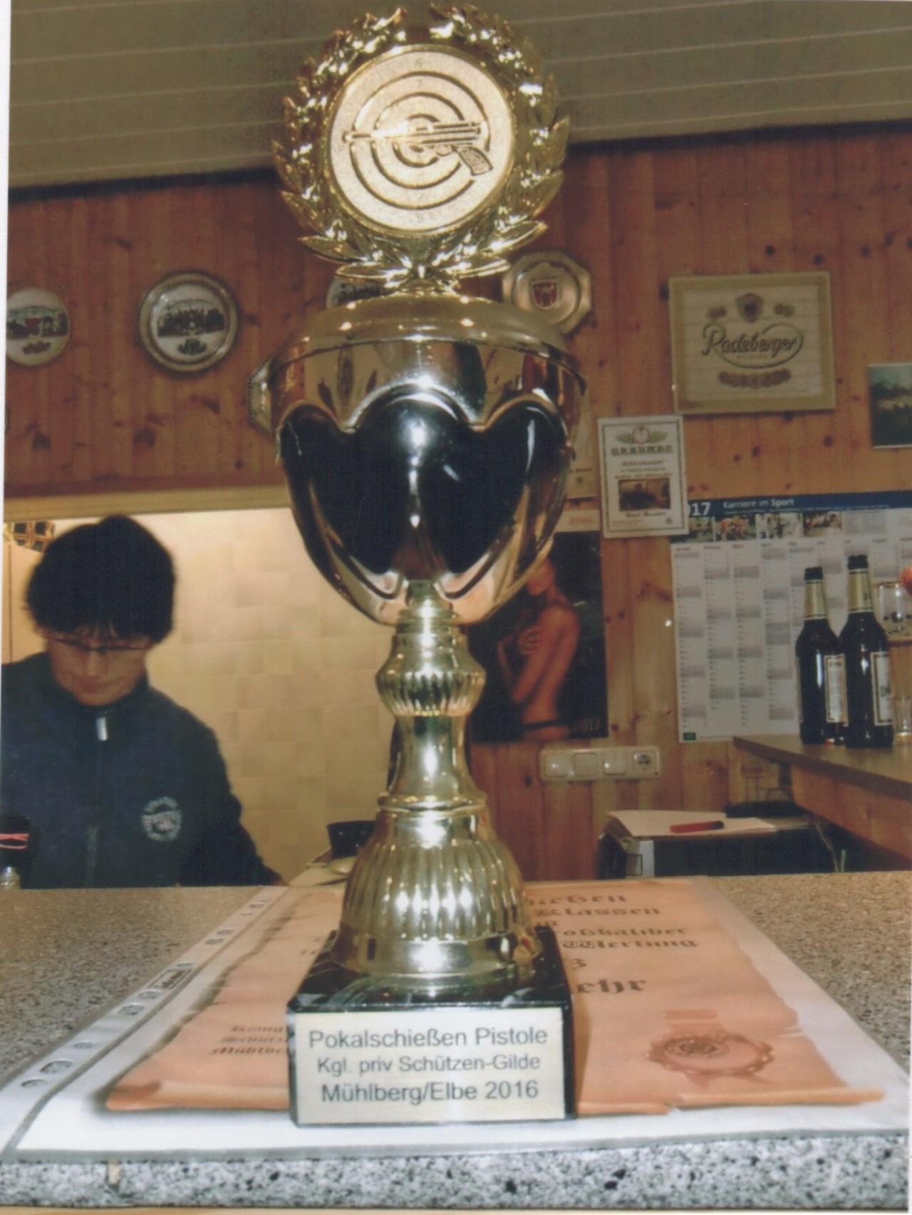 Pokal Wettkampf Pistole 2016