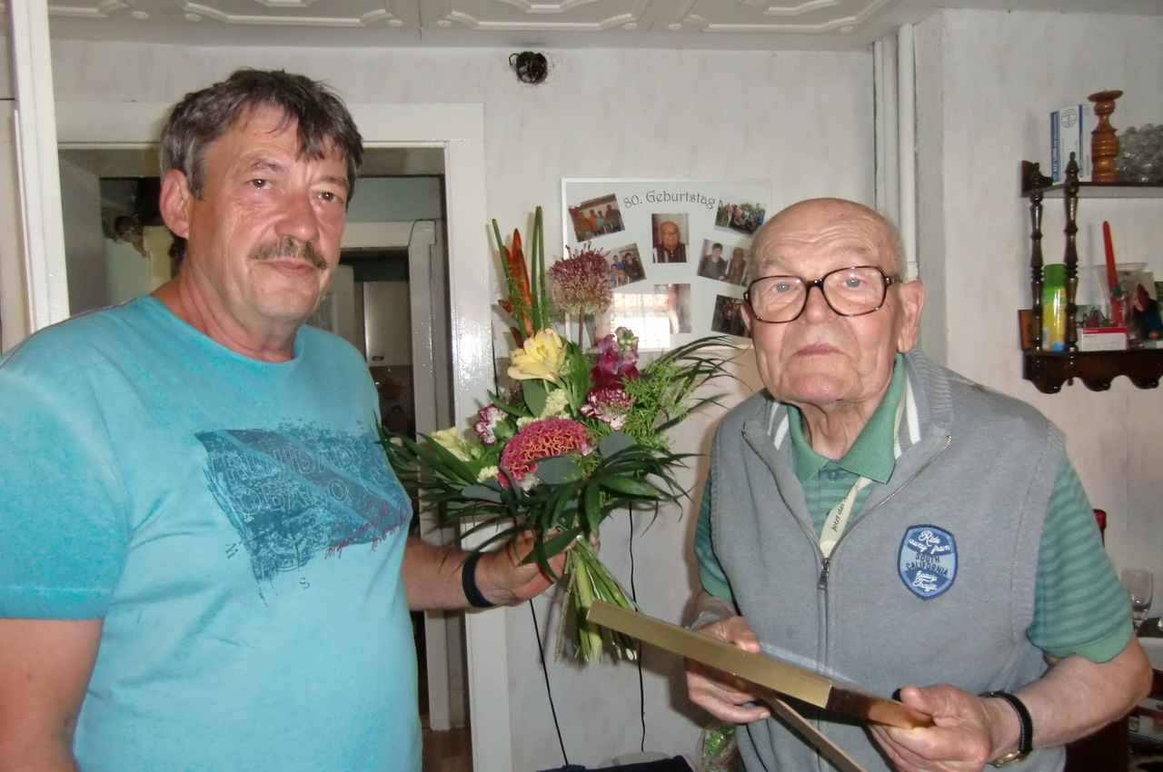 2019 90. Geburtstag Gerhard Olbrich